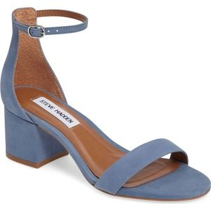 NIB STEVE MADDEN IRENEE (WIDE WITH) LIGHT BLUE